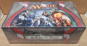 Magic the Gathering Core 2012 Booster Box Japanese Language