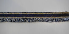 Black OR Navy Braid trim edging sewing trim clothes trimming Sold by Per Yard