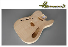 Thinline Telecaster two piece Swamp Ash body Flamed Maple Top peso sólo 1290g
