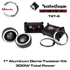 "Rockford Fosgate Power T2T-S - 1"" Aluminio Dome Tweeter Kit 300 W de potencia total"