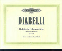 Diabelli ~ Melodische Übungsstücke für Klavier zu 4 Händen
