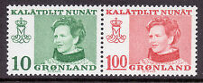 Mint Never Hinged/MNH Royalty Greenlandic Stamps