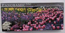 Panoramic Jigsaw Puzzle Tulip Delight LPF Butchart Gardens British Columbia