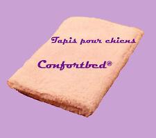 Tapis Confortbed Vetbed Eleveur rose uni 100 x 150 cm épaisseur 26 mm