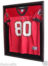 X Large Football Jersey  Display Case Wall Frame Shadow box -UV, LOCKS, JC02-MAH