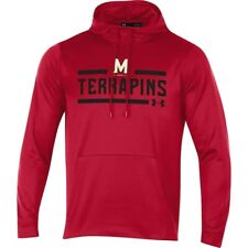 Mens Under Armour Maryland Terrapins Coldgear Performance Hoodie -  XL - NWT