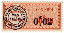(I. B) Vietnam ricavi: dazio STAMP 0 $02 su $10 OP