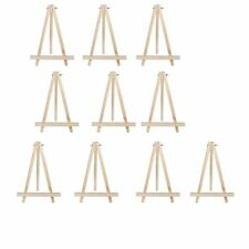 10pcs 9inch Artist Easel Wood Tripod Table top display photos decorative plates