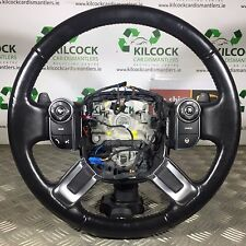 RANGE ROVER VOGUE STEERING WHEEL L405 MULTI FUNCTION HEATED LEATHER PADDLE SHIFT