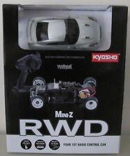 Kyosho Mini Z, MR03 RWD Readyset RTR, Nissan GT-R, ultimate metal silver (N-RM)