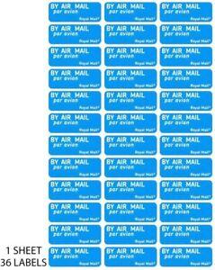Air Mail Par Avion Self Adhesive Labels Stickers (36)