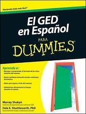 El GED en Espanol Para Dummies (Para Dummies  for Dummies)-ExLibrary