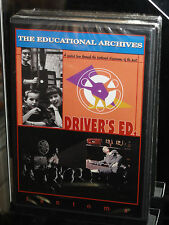 Educational Archives #3: Driver's Ed (DVD) Classrooms Of The Past! BRAND NEW!