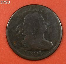 "1804 Draped Bust Half Cent ""G/VG"" *Free S/H After 1st Item*"