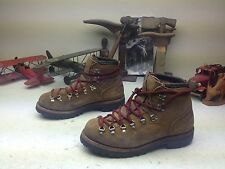 DEXTER USA BROWN DISTRESSED LEATHER LACE UP MOUNTAINEER ENGINEER BOSS BOOTS 10 M