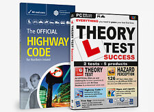 NORTHERN IRELAND HIGHWAY CODE & THEORY TEST SUCCESS DVD ROM PACKAGE
