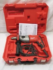"""Milwaukee 5378-21 Electric 1/2"""" 7.5 Amp Hammer Drill w/Handle and Case"""