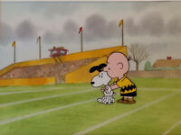"Charlie Brown and Snoopy ""Snoopy and the Giant"" Original Production Cel"