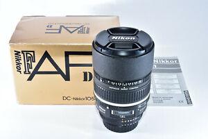 Nikon DC-NIKKOR 105mm f/2 D RF AF M/A Lens Df D850 D750 D610 D3 D4 D5 D7200 D500