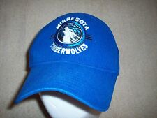 Minnesota Timberwolves Hat adidas Ball Cap Blue NBA Curved Brim