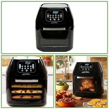 6 Qt Air Fryer Oven Black Dehydrator Cooker Grill Rotisserie Kitchen Appliance