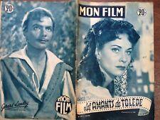 """MON FILM 1953 N 347  """" LES AMANTS DE TOLEDE"""" ALIDA VALLI"""