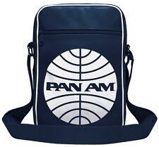 Pan Am Tasche Pan Am Umhängetasche Schultertasche Sporttasche - blau - Logoshirt