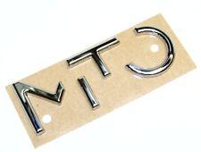 Alfa Romeo Chrome Effect Tailgate / Boot badge 50508674 New Genuine
