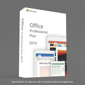 Microsoft Office 2019 Professional Plus - Kein ABO - 1 PC - Windows 10 EMAIL TOP