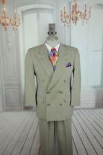 Double Breasted 100% Wool Suits and Suit Seperates for Men