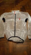 Castelli Transparent Rain Jacket Size Small (S)