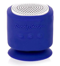 Randy Jackson Studio Series Bluetooth Mini Speaker, Blue