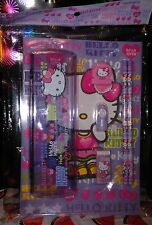 NEW NIP Sanrio Lavender Hello Kitty School Stationery Set - Promo Item!