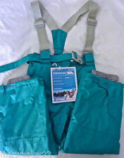 NWT-TRESPASS PROTEKT SNOW PANT KIDS 3/4 'GO FURTHER' WATERPROOF WINDPROOF TAPED