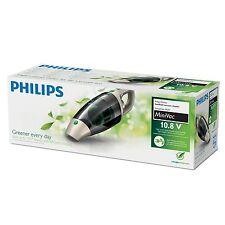 Philips  Akkusauger Beutellos 10,8 V Li-Ionen Akku 2-stufig 100 Watt Grau