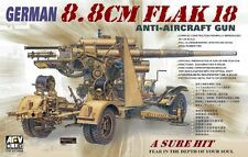 AFV CLUB  GERMAN 8.8 CM FLAK 18 ANTI AIRCRAFT GUN  Scala 1:35 Cod.35088