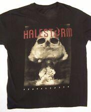 Halestorm Apocalyptic Concert Tour Mushroom T-Shirt Black size L