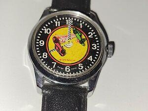 """Hot Wheels Redline Swiss Winding Watch """"1970"""" (By Mattel) EUC Works Great!"""