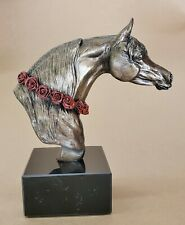 Pharaoh's Roses, Arabian Horse Head Bust, trophy, award