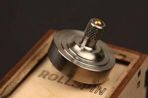Precision Titanium spinning top ~ RollSpin (kickstarter) ~ Birthday gift