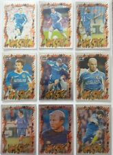 Chelsea Futera 1999 Fans Selection Chrome HotShots Set 9 cards.