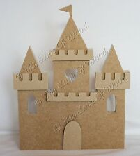 Free standing 3D PRINCESS CASTLE craft shape MDF 18mm thick