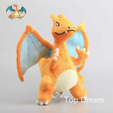 CHARIZARD Pokemon Plush Toy Soft Sutffed Aniaml Doll Figure 12'' Teddy Xmas Gift