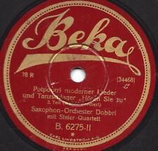 Saxophon Orchester Dobbri + Steier -Quartett : Hören Sie zu !