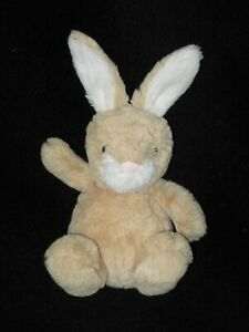 "Jellycat Plush Poppet Bunny Honey Tan White Small 5"" Stuffed Animal Toy Lovey"