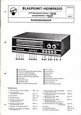 Service Manual-Anleitung für Blaupunkt Florenz 7 628 520, 7 628 970