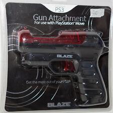 Pistola per Play Station Move PS3 Gun Attachment blaze videogiochi consolle