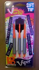 Viper V-Glo Orange Grey 18g Soft Tip Darts 20-4300-18 VGLO 18g  w/ FREE Shipping