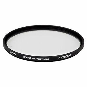 Hoya EVO ANTISTATIC 58mm Clear Protector Filter - 18-layer (SHMC) Multi-Coating