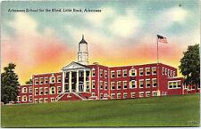Little Rock, Arkansas, Arkansas School for the Blind - Postcard - Vintage